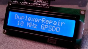 New 10 MHz GPS Disciplined Oscillator Lab Calibration