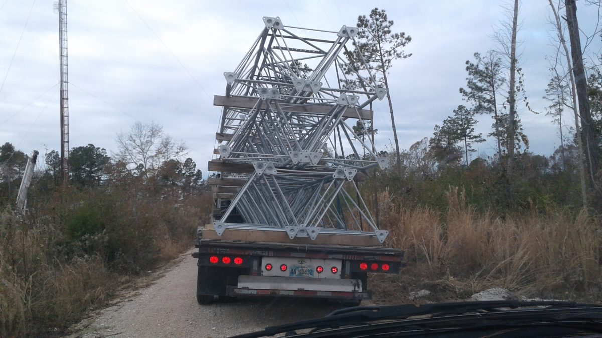Replacement Auburn, AL Communications Tower Delivered
