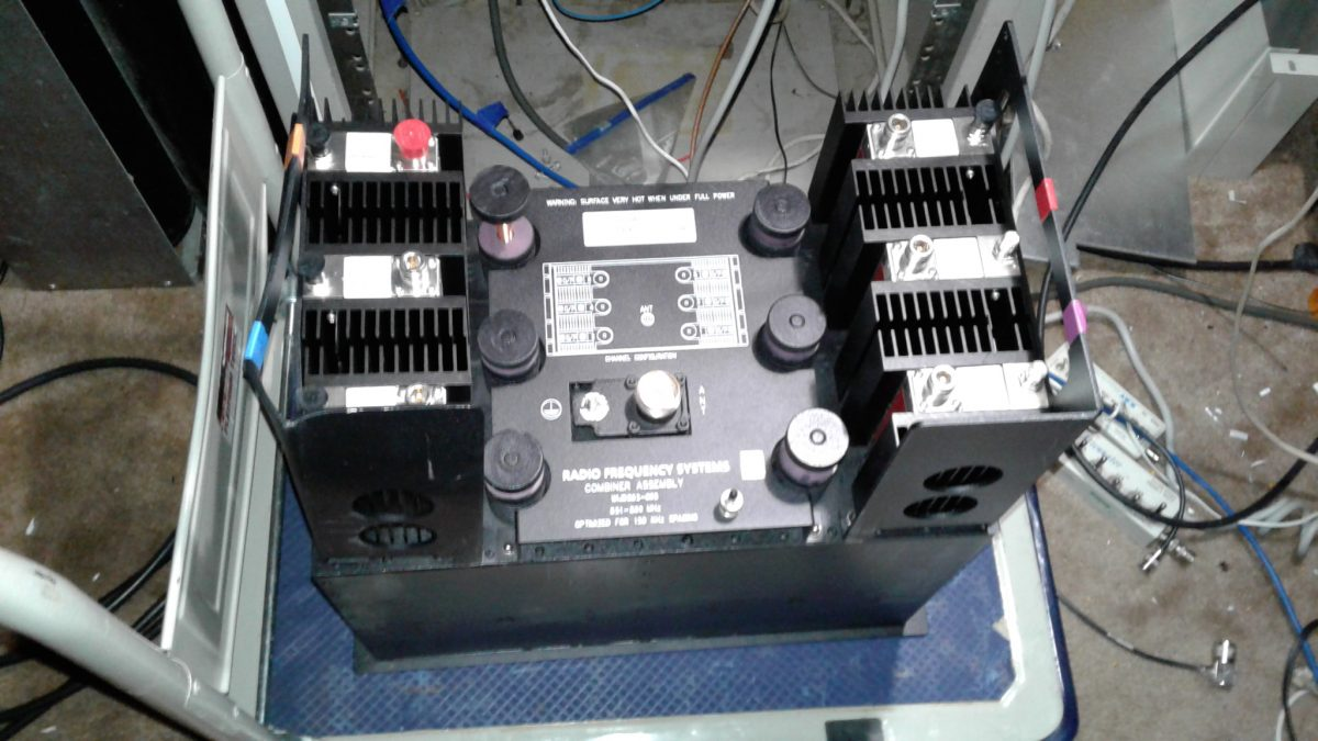 Cool Tuning Job – RFS Corporation WIJD862-06SSP 6-Channel 800 MHz Combiner